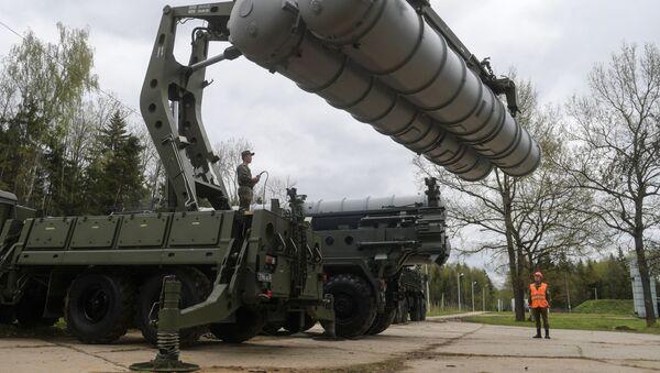 Rus ordusundan Moskova'da S-400'lu eğitim - Sputnik Türkiye