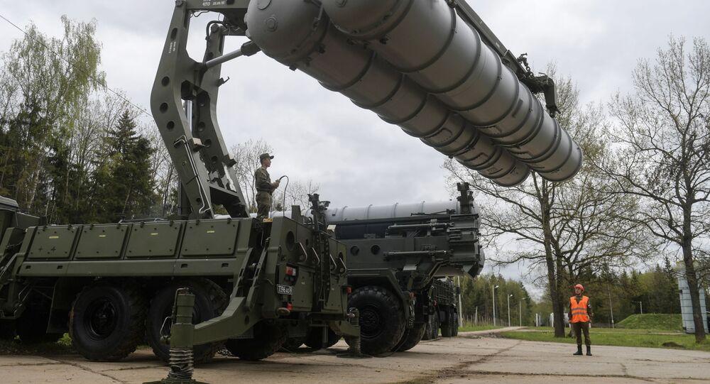 Rus ordusundan Moskova'da S-400'lu eğitim