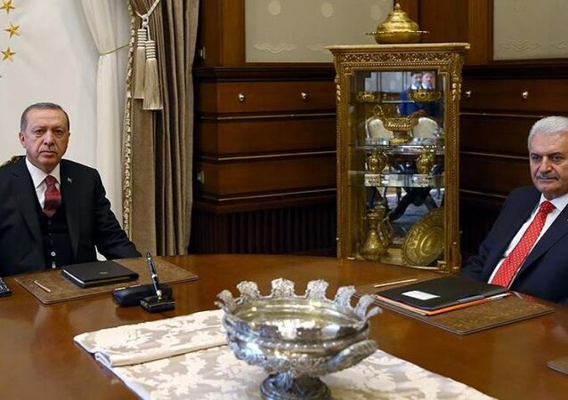 Recep Tayyip Erdoğan - Binali Yıldırım / Beştepe