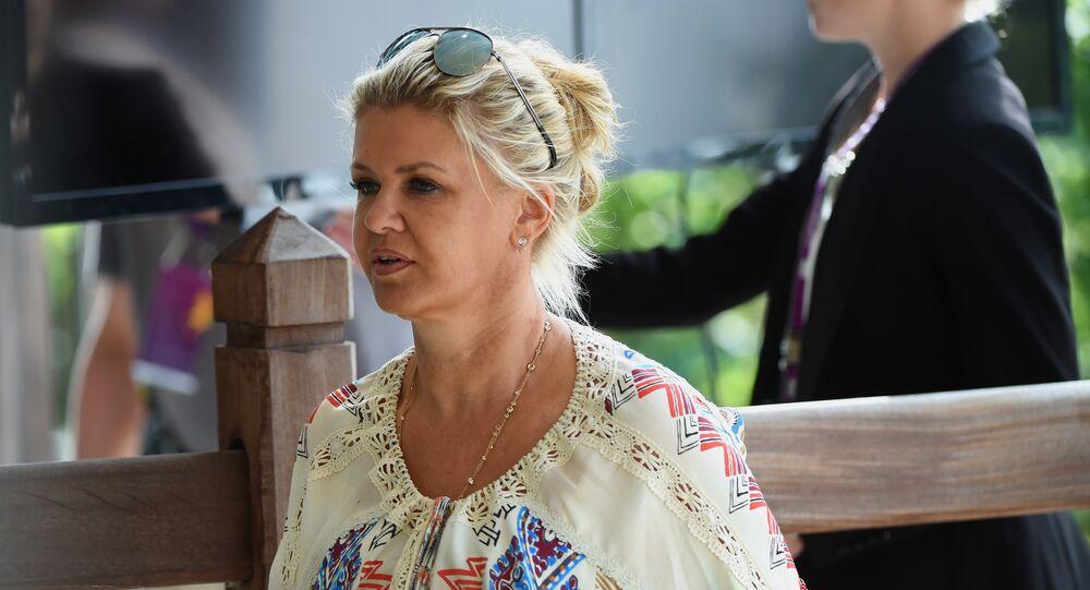 Michael Schumacher'in karısı Corinna Schumacher