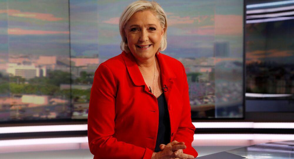 Ulusal Cephe (FN) Partisi Başkanı Marine Le Pen