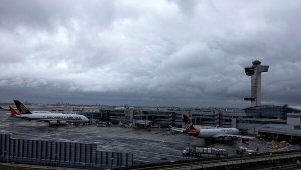 New York'taki JFK Havalimanı - Sputnik Türkiye
