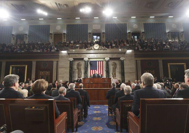ABD Başkanı Donald Trump, Kongre'ye hitap etti