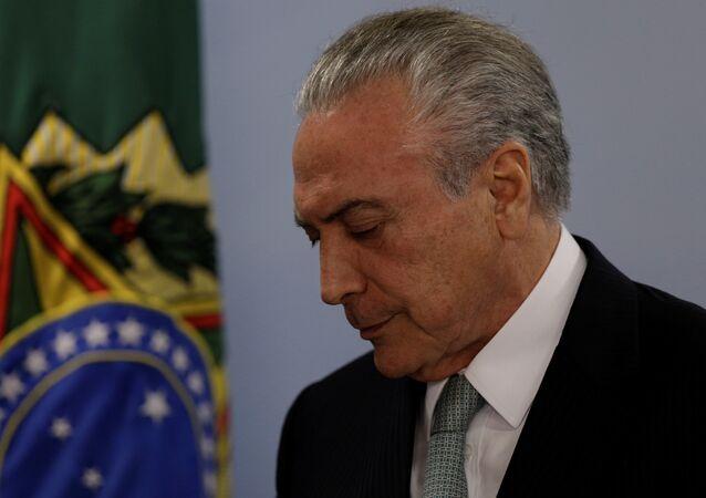 Rüşvetle suçlanan Brezilya Devlet Başkanı Temer: İsitfa etmeyeceğim