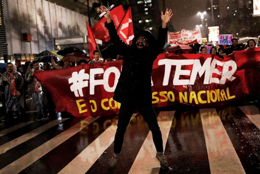 Yolsuzlukla suçlanan Brezilya Devlet Başkanı Temer: İstifa etmeyeceğim