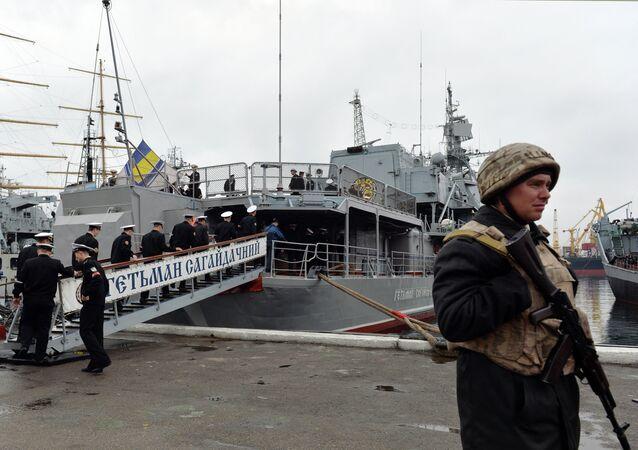 Ukrayna'nın amiral gemisi Getman Sagaydaçnıy