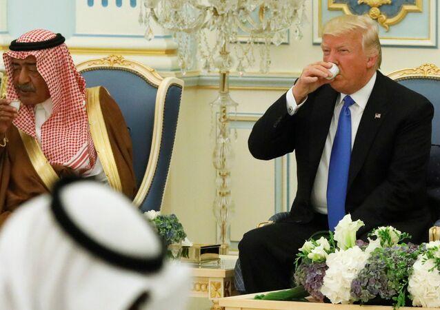 ABD Başkanı Donald Trump, Suudi Arabistan'da