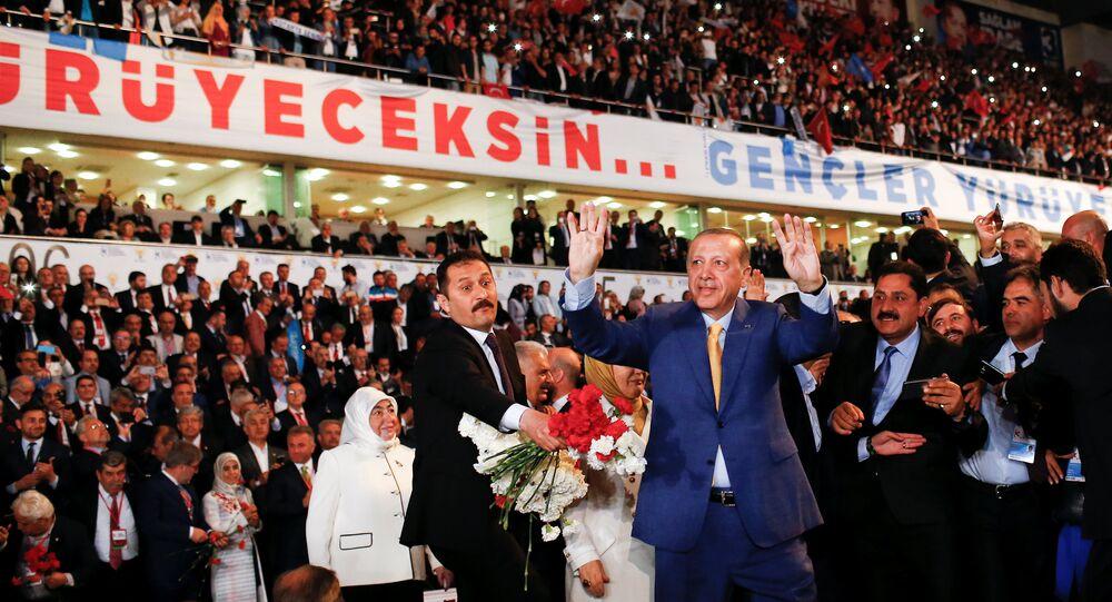AK Parti 3. Olağanüstü Büyük Kongresi - Cumhurbaşkanı Recep Tayyip Erdoğan