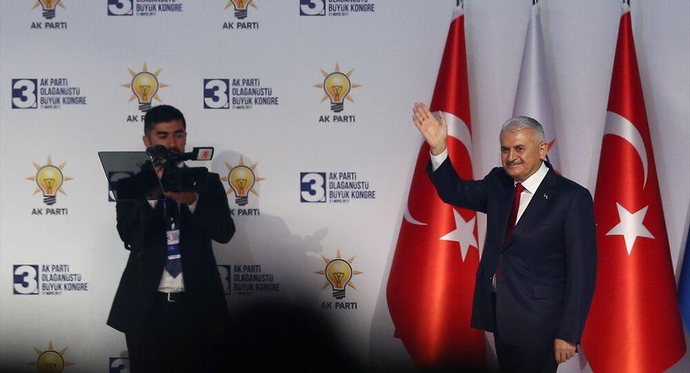 AK Parti 3. Olağanüstü Büyük Kongresi - Başbakan Binali Yıldırım