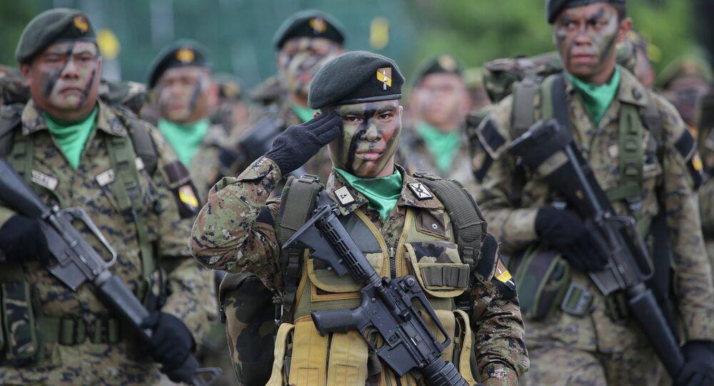 Filipinler Silahlı Kuvvetleri'ne mensup askerler