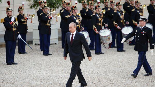 Vladimir Putin - Paris - Sputnik Türkiye
