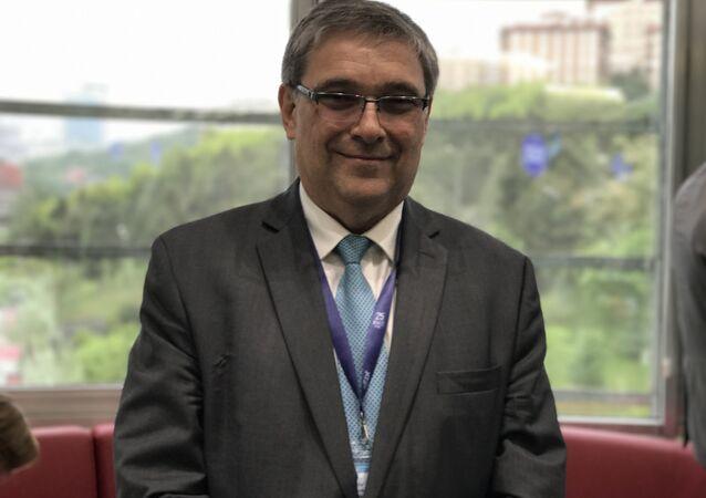 Rusya Dışişleri Bakanlığı Ekonomik İşbirliği Bölümü Direktörü Yevgeniy Stanislavov
