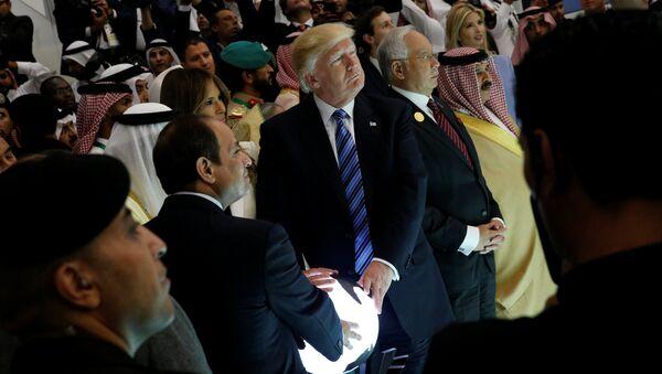 ABD Başkanı Donald Trump - Mısır Cumhurbaşkanı Abdülfettah Sisi - Suudi Arabistan Kralı Selman - Sputnik Türkiye