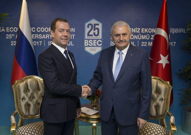 Başbakan Binali Yıldırım-Rusya Başbakanı Dmitriy Medvedev