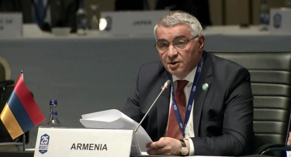 Ermenistan Dışişleri Bakan Yardımcısı Ashot Hovakimiyan