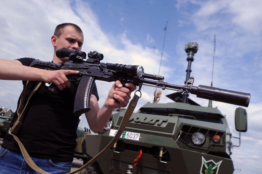 Minsk'te  düzenlenen Milex-2017 Silah Fuarı