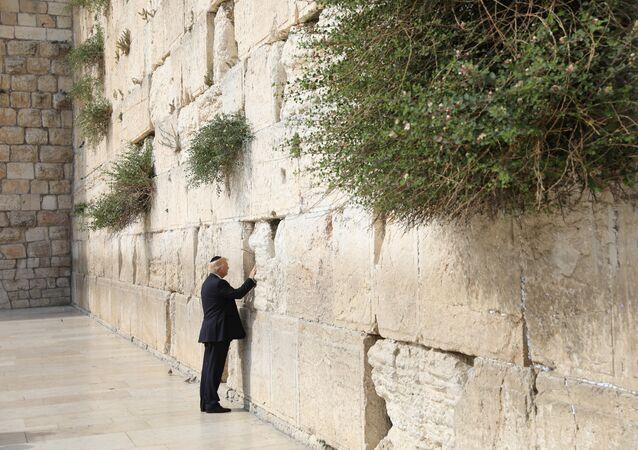 Donald Trump, Ağlama Duvarı'nda