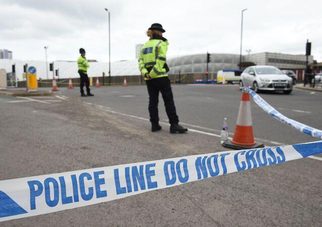 Manchester'da bomba alarmı (arşiv)