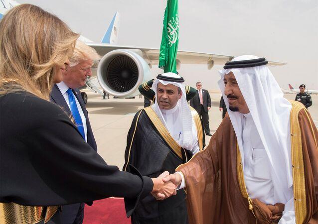 Melania Trump-Suudi Kral Selman