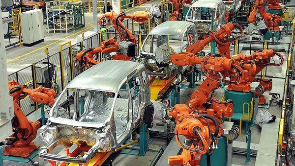Otomobil üretimi  - Sputnik Türkiye