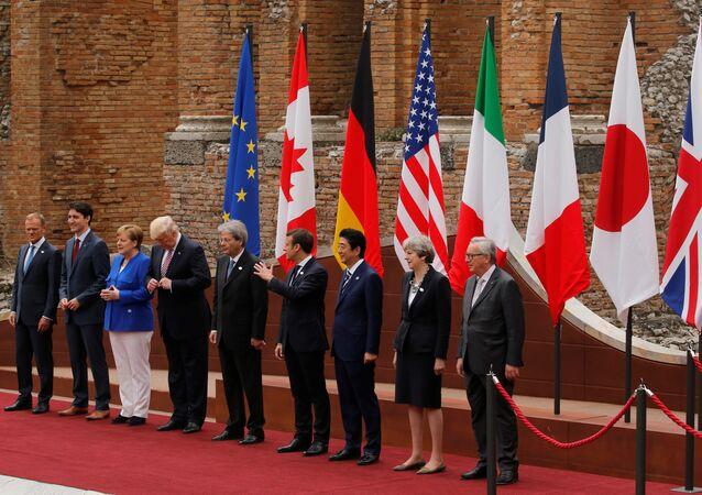 G7 Zirvesi İtalya'da toplandı
