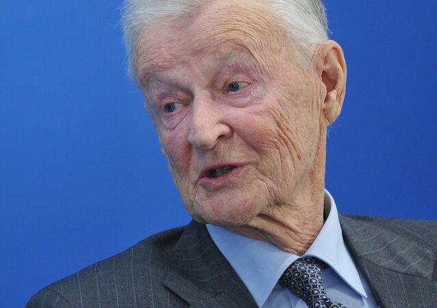 Zbigniew Brzezinski, former US national security advisor