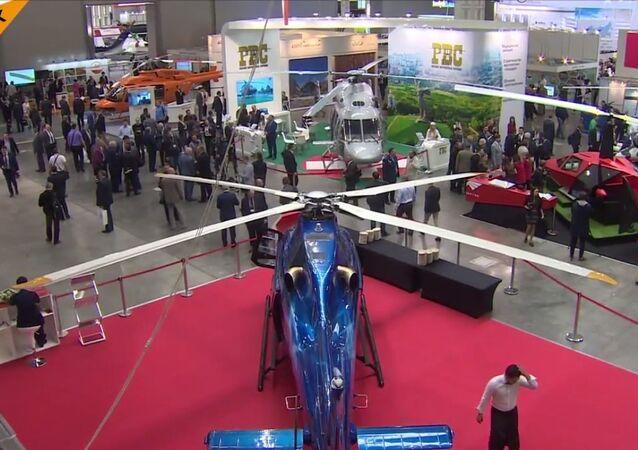 Moskova, 10. Uluslararası Helikopter Endüstrisi Fuarı'na ev sahipliği yapıyor
