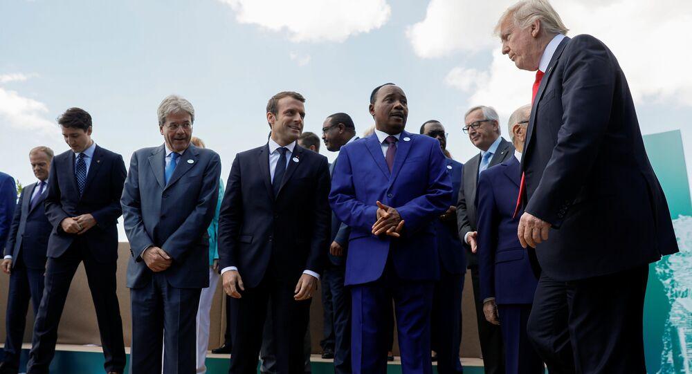 G7 liderleri