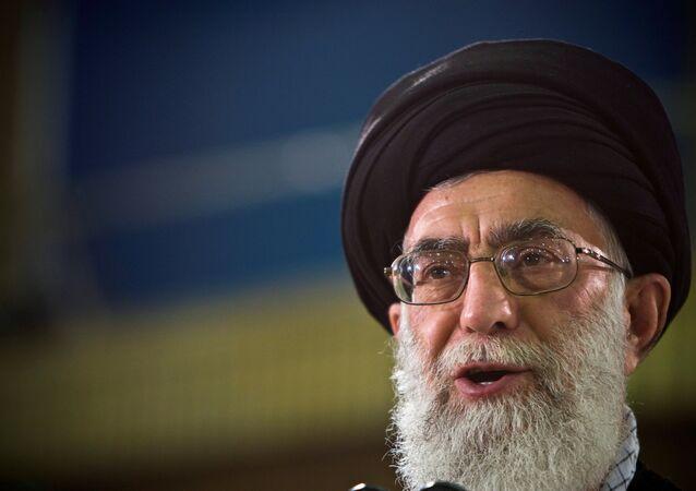 İran'ın ruhani lideri Ayetullah Ali Hamaney