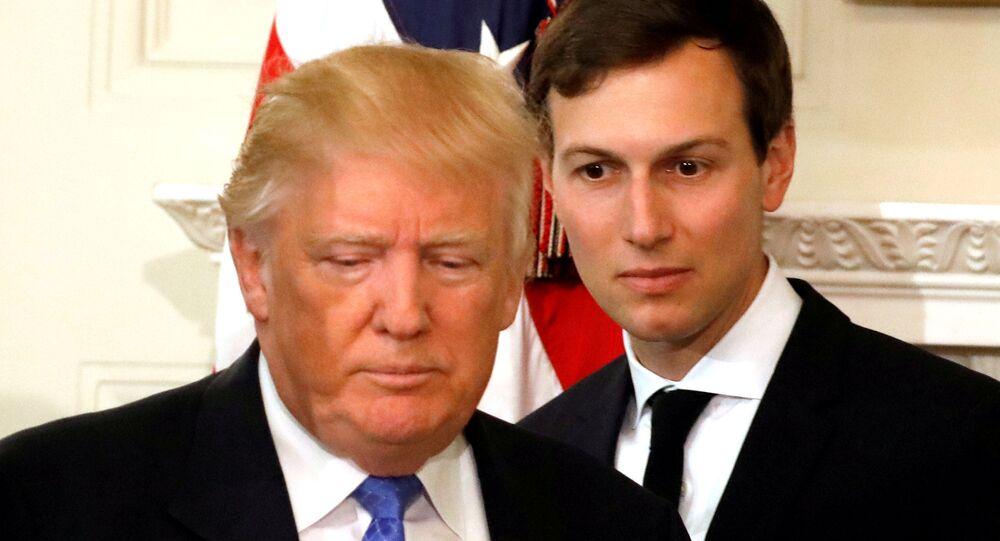 ABD Başkanı Donald Trump ve Başdanışmanı Jared Kushner