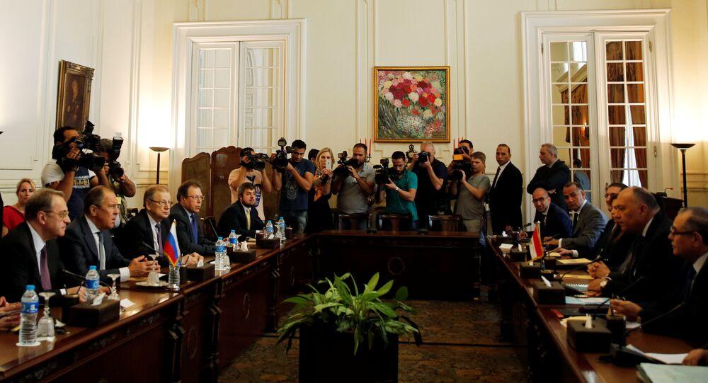 Rusya Dışişleri Bakanı Sergey Lavrov, Mısır'da temaslarda bulundu