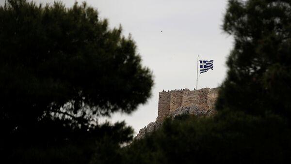 Yunanistan / Yunan bayrağı - Sputnik Türkiye
