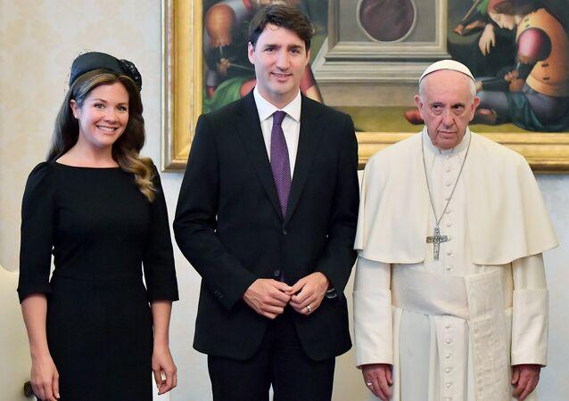 Justin Trudeau - Papa Francis