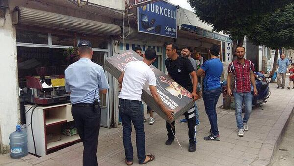 Hatay'da Arapça tabelalar kaldırıldı - Sputnik Türkiye