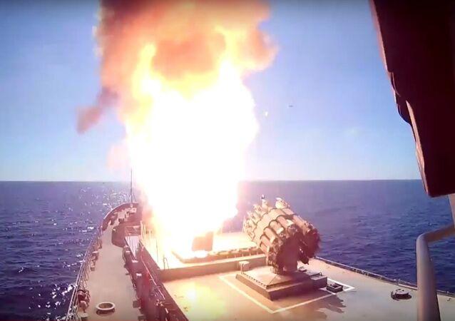Rusya: Palmira'daki IŞİD hedeflerini Akdeniz'den vurduk
