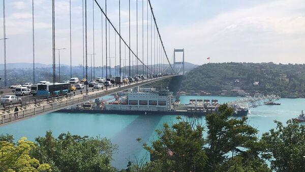 Pioneering Spirit - Türk Akımı - Sputnik Türkiye