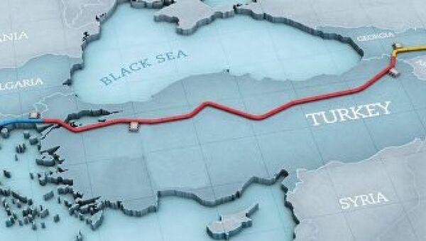 Güney Gaz Koridoru Projesi - Sputnik Türkiye