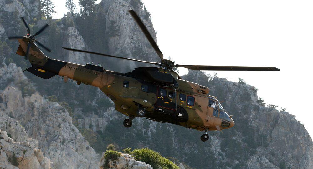 Cougar tipi askeri helikopter