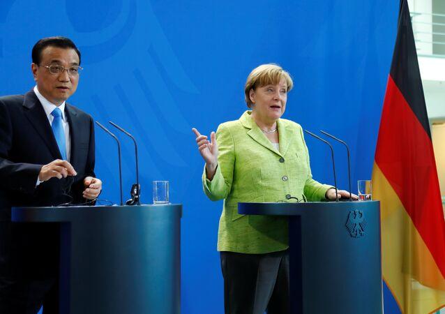 Angela Merkel - Li Keqiang