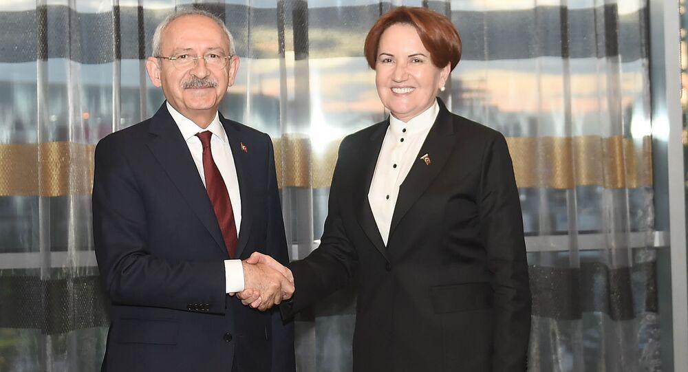 CHP Genel Başkanı Kemal Kılıçdaroğlu, Meral Akşener ile bir araya geldi