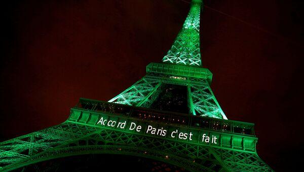 Paris İklim Değişikliği Anlaşması - Sputnik Türkiye