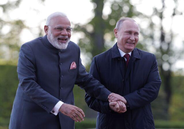 Narendra Modi-Vladimir Putin