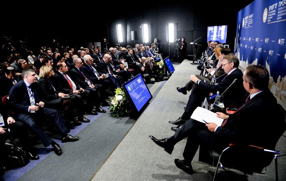 21. St. Petersburg Uluslararası Ekonomi Forumu