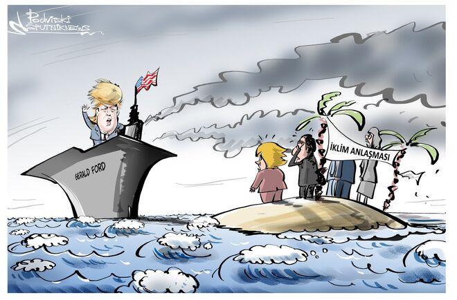 ABD Paris İklim Anlaşması'ndan ayrılıyor.