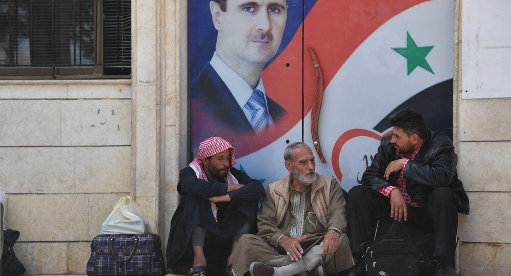 Suriye Devlet Başkanı Beşar Esad- Deyr ez Zor