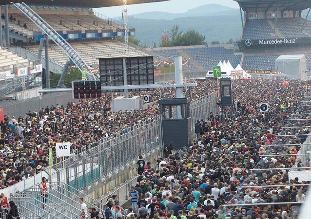 Almanya'da düzenlenen 3 günlük müzik festivali Rock am Ring