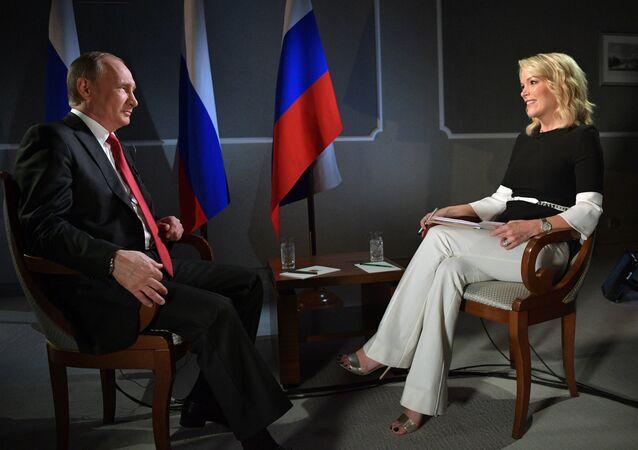 Vladimir Putin-Megyn Kelly