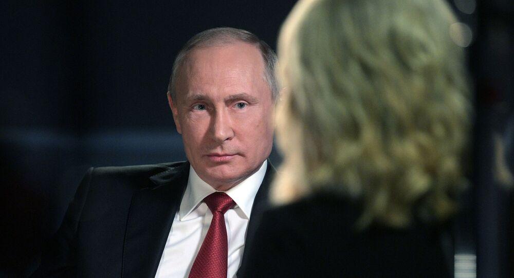 Valdimir Putin / NBC röportajı