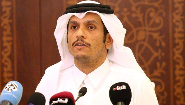 Katar Dışişleri Bakanı Muhammed bin Abdurrahman El Sani - Sputnik Türkiye