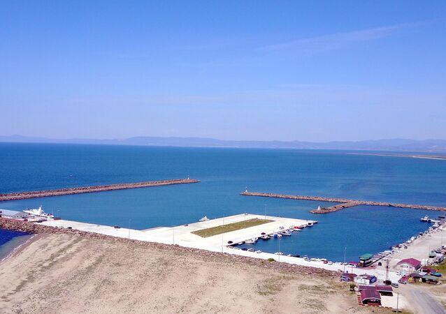 Araplar, Saros Körfezi'ndeki Enez'e 'Yat Limanı' kuruyor